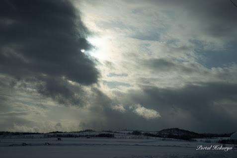巨大なゴジラ雲