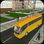 Crazy City Bus Coach Simulator Driving Mania 3D icon