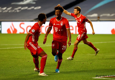 Kingsley Coman a fait son retour à l'entraînement avec le Bayern