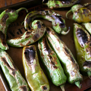 How To Roast Hatch Green Chiles