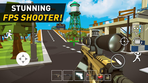 Pixel Danger Zone: Battle Royale  screenshots 1