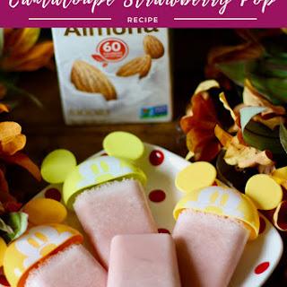 Cantaloupe Strawberry Pop.