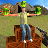 Water melon Shooter: US Army Apple Shooting Game