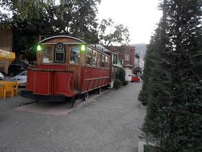 Photo: вагон-ресторантът :) Всъщност само улична будка за кафе