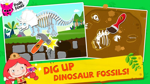 PINKFONG Dino World  screenshots 3