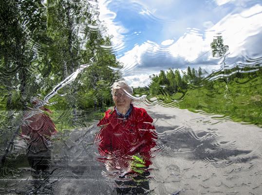 Lavaggio vetro di leorol