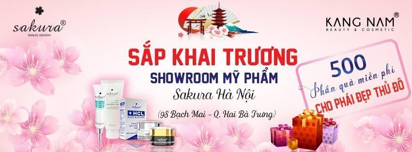 showroom Sakura tại Hà Nội của Kang Nam