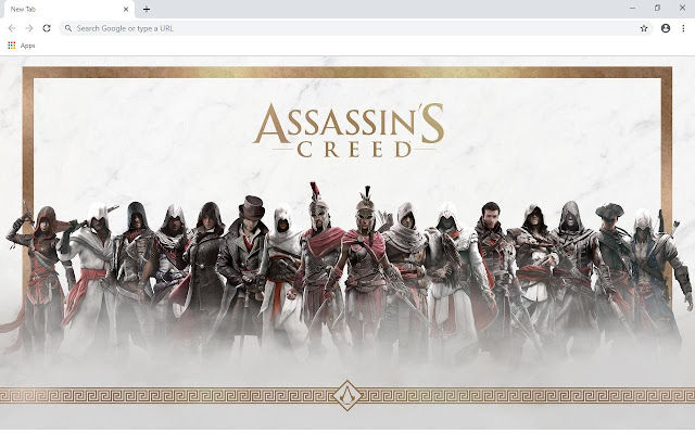 Assassin's Creed Wallpapers and New Tab