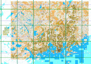 Photo: The area near Helsinki for which I have created maps using Karttapullautin, 20121101
