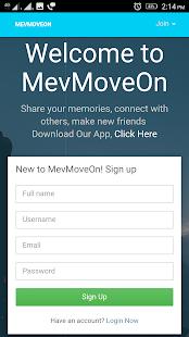 MevMoveOn - náhled