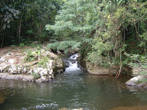 Photo: The head waters of Khao Soi Dao come a long way through the jungle clad highland
