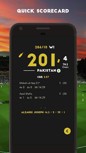Cricket Live Scores & News  screenshots 2