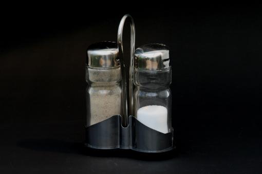 Poivre et sel inox