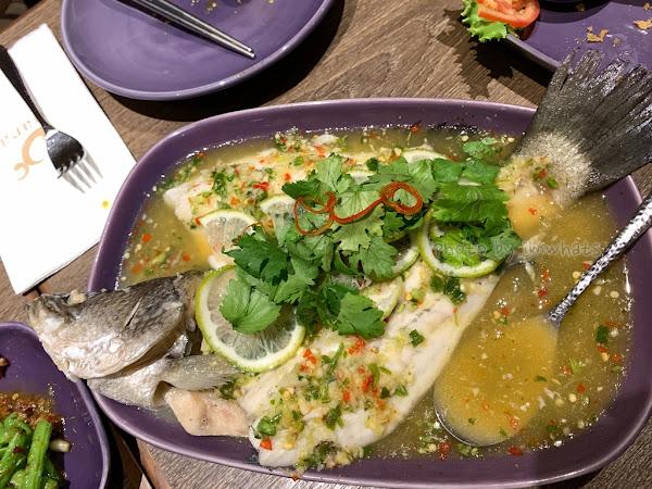 台中•NARA Thai Cuisine 泰式料理的檸檬魚好好吃