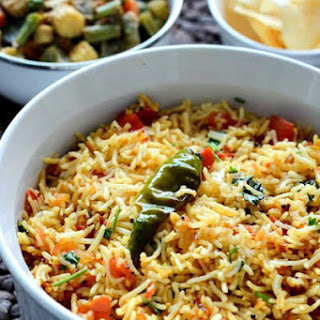 Tomato Rice Recipe, South Indian Tomato Rice, Step by Step.