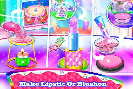 Makeup kit cakes : cosmetic box makeup cake games 1.0.4 screenshots 2