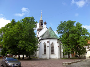 Photo: The Cathedral of St. Mary the Virgin was constructed by the Danes in 1240.  It is Lutheran and believed to be the oldest church in Estonia