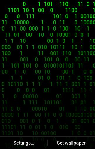 Hacker Live Wallpaper