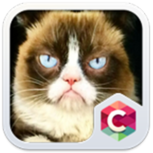 Grumpy Cat Theme C Launcher
