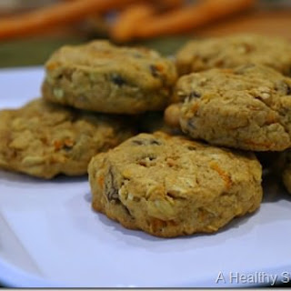 Carrot Cake Lactation Breakfast Cookies for New Moms.