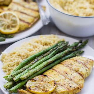 2-Ingredient Grilled Lemon Pepper Chicken Recipe