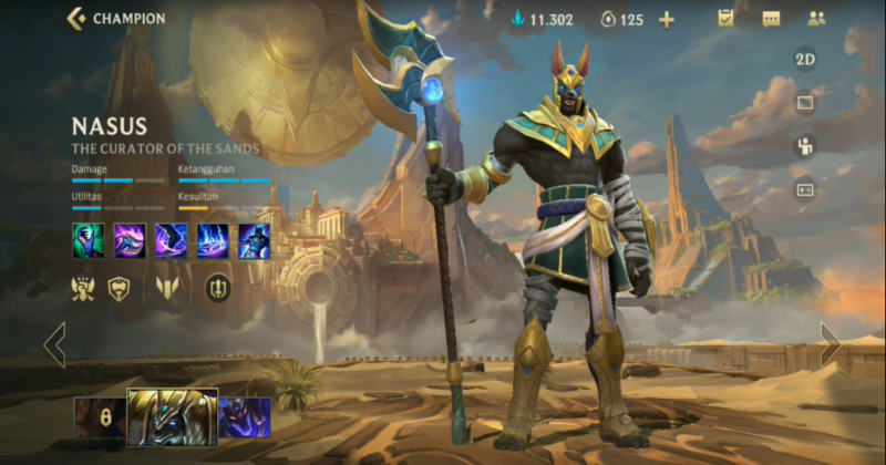 LOL: Wild Rift Nasus Build Guide, Counters, Combos, and Much More!