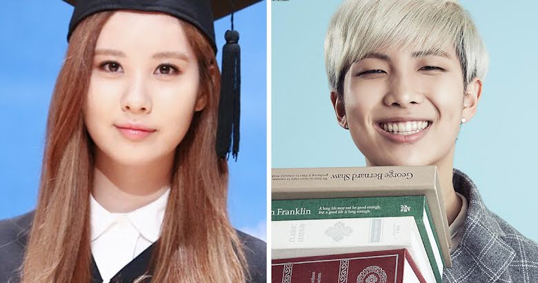 13 K Pop Idols You Never Knew Were Actually Incredibly Smart Koreaboo