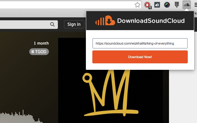 How to download soundcloud songs online using klickaud.