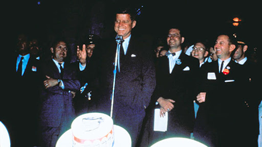 LIttle did we know: JFK, nightclub performer