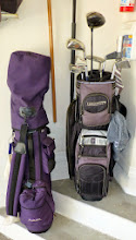 Photo: Thanks to Dave Thie for the use of a second set of ladies golf clubs