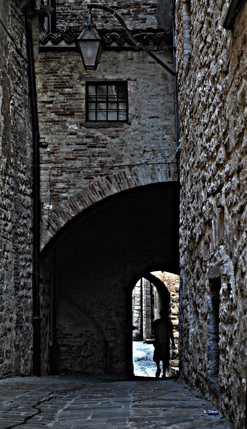 Un'ombra nel vicolo di Simona  Petrucciani
