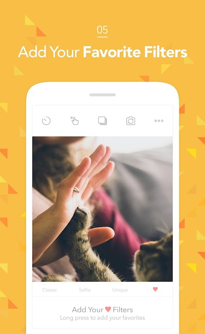 #5. Candy Camera - Selfie Photo (Android)