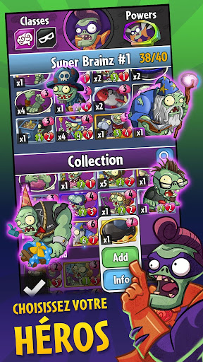 Plants vs. Zombies™ Heroes  captures d'écran 2