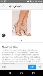 Stylect - Find amazing shoes- screenshot thumbnail