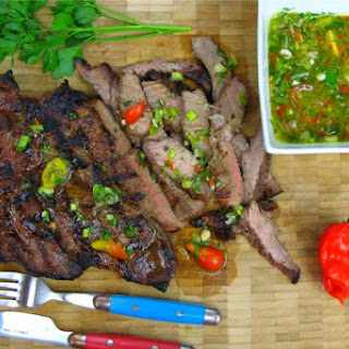 The Ultimate Steak Marinade And Dressing..