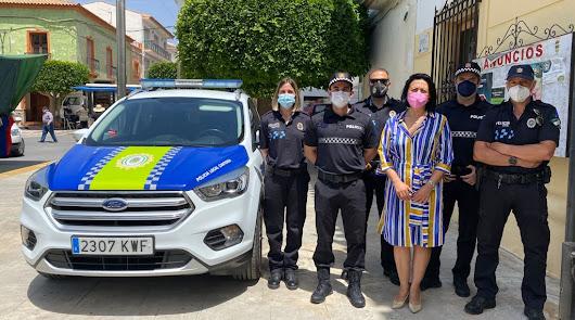 Cantoria incorpora dos nuevos agentes a la plantilla de Policía Local