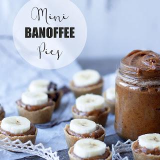 Mini Raw Banoffee Pies – Vegan & Gluten-free.