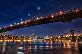 Photo: Under the bridge  #Dumbo  #brooklynbridge  #manhattanbridge  #nyc
