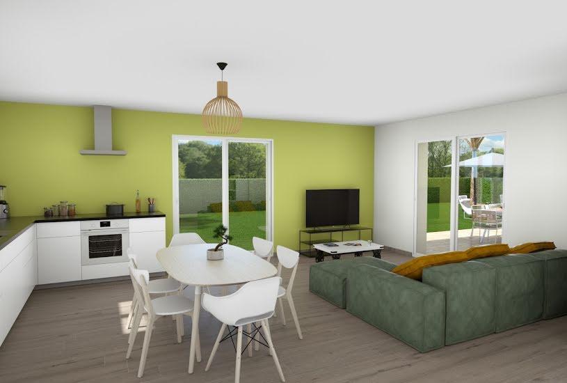 Vente Terrain + Maison - Terrain : 3900m² - Maison : 87m² à Mézières-sur-Issoire (87330)