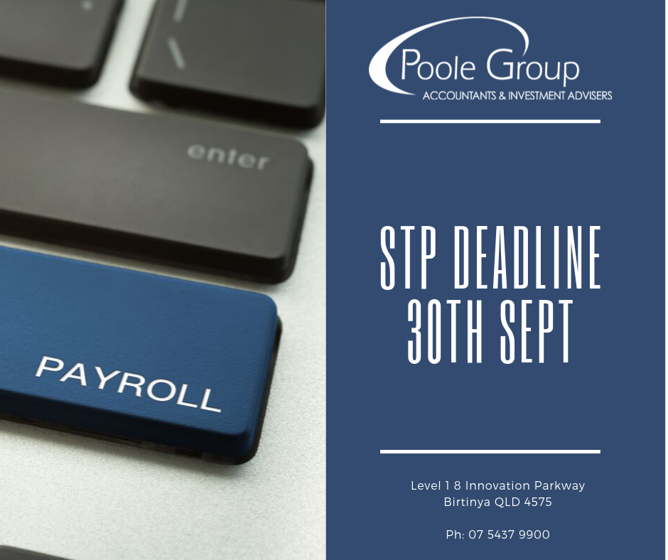stp deadline 30th sept