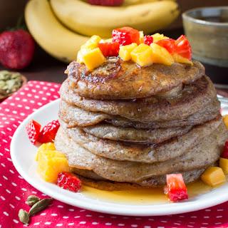 Gluten-Free Cardamom Banana Pancakes