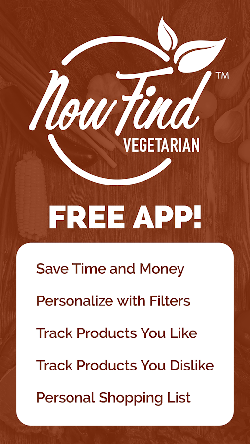 Now Find Vegetarian- screenshot