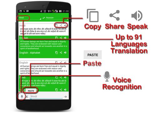 India Dictionary Translator