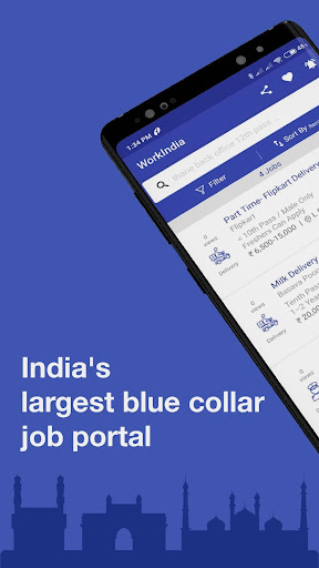 WorkIndia Job Search App - Free HR contact direct 6.0.0.12 screenshots 1