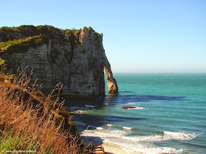 Photo: #020-Etretat, l'Arche d'Aval.