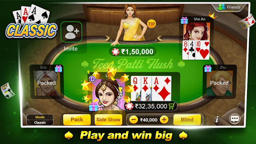 Teen Patti Flush: 3 Patti Poker 1.3.8 screenshots 1