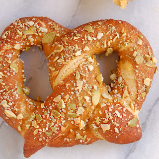 Pumpkin Spice Ale Soft Pretzels #Breadbakers