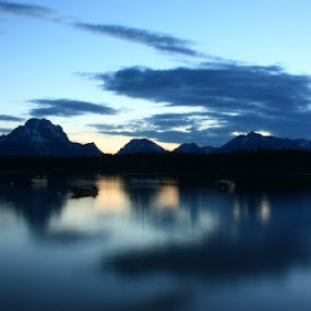 Grand Teton by Yao Hu - Landscapes Mountains & Hills