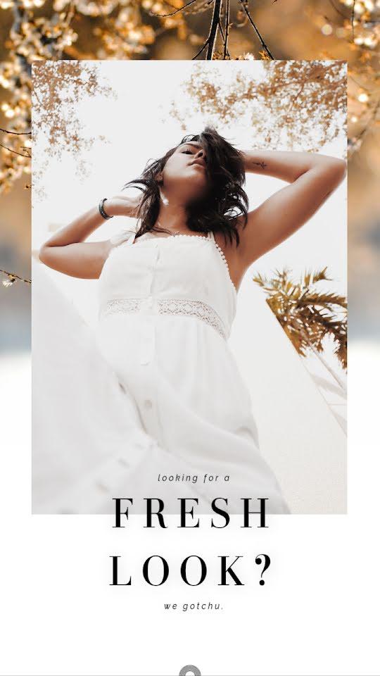 Fresh Look? - Facebook Story Template