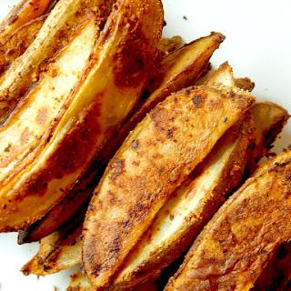Oven Baked Steak Fries.